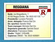 BOLOGNA 96-97 -Ediland- Figurina-Sticker n. 115 - REGGIANA - ALTRE SQUADRE -New
