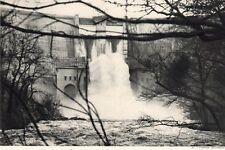15 SAINT ETIENNE CANTALES USINE BARRAGE OUVERTURE VANNES IMAGE 1948 OLD PRINT