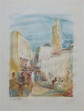 Robert Francolin 1899-1974 litho signée numerotée paysage  p 596
