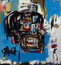 Jean Michel Basquiat FINE  HD print on canvas 50X50INCH