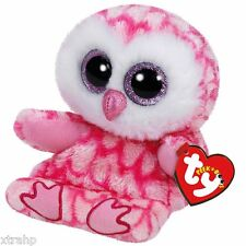 Ty Milly Pink Owl Peek-A-Boo Phone Holder/Screen Cleaner TY 3+, Boys & Girls