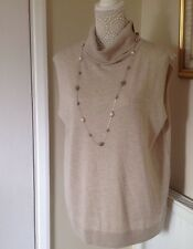 BNWT M&S AUTOGRAPH JUMPER /TOP SZ 16 WOOL SILK AND CASHMERE