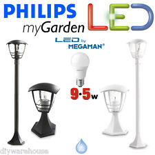 Philips Massive Mi Jardín Led 9,5 w Creek Pilar Post Pedestal Bolardo de luz