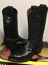 Muro Women's Western black snake Leather  boot  Size EU 36 Fit  US size  5.5 NIB