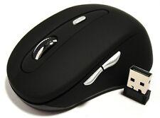 Fünf 5 Tasten Funkmaus Funk Maus 2,4GHz Wireless für Laptop Notebook Computer PC