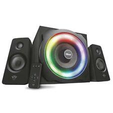 Trust GXT 629 Tytan 2.1 Lautsprecher Set schwarz 120 Watt RGB-Farben