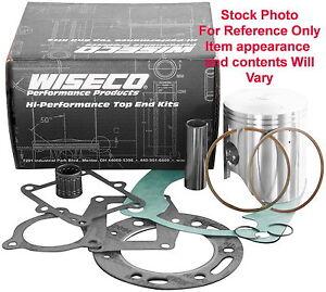 Wiseco PK1715 Top End Piston Kit 46mm Fits 93-01 Yamaha YZ 80 International Bore
