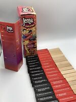 Vintage Jenga Truth or Dare Precision Wood Crafted Adult Party Game Board Game
