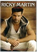Ricky Martin DVD Live In España Brand New Sealed Rare