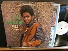 Al Green: Let's Stay Together (strongVG++ 1st 1971 silver/grey HI SHL-32070 LP