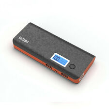 50000mAh Portable Power Bank LCD 2 USB LED Battery Charger For Universal Phones
