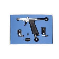 SP166 Gravity Dual Action Trigger Airbrush Kit 0.3mm Needle Spray Gun Paint Art