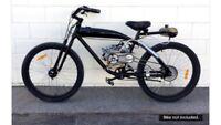 4-Stroke Engine 79cc/212cc Racing Muffler For Racing Motorized Bicycles. Chrome