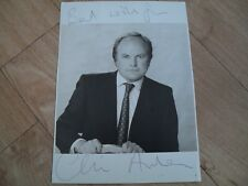 CLIVE ANDERSON - autographed photo signed by Clive Anderson