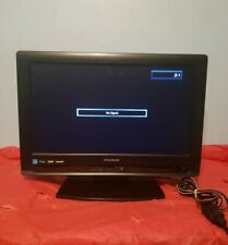 "Sylvania LC195SLX 19"" 720p HD LCD Black Flat Panel Television   ""NO Remote"""