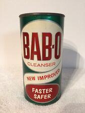 Vintage BAB-O Cleanser 14oz