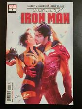 Tony Stark: IRON MAN #4a (2018 MARVEL Comics) VF/NM Book