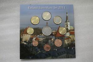 Estland Euro Kursmünzensatz 2011 Estonia Euro Coins B38 BX9