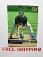 2008 Topps Stadium Club 1st Day #D /599 RC card #122 Jonathan Herrera MLB