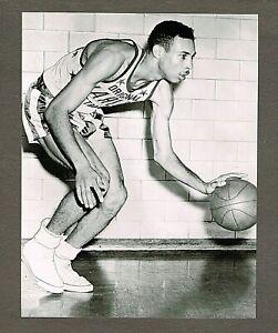 "1955 6x7.5 Original Photo, Charles ""Tex"" Harrison, Harlem Globetrotters #91"