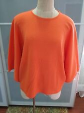 Rebecca Moses Over Sized 100% Wool Dolman Sleeve Sweater Size xs