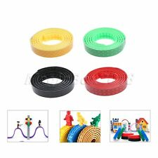 Kids Toy Adhesive Building Blocks Tape Compatible With Lego Construction 4 Rolls