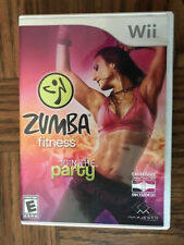 Zumba Fitness(Nintendo Wii, 2010)Booklet enclosed NO ZUMBA FITNESS BELT INCLUDED