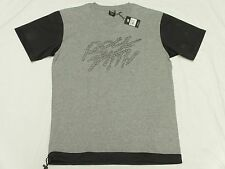 9030aa60b8b067  50 NWT Mens Rocksmith T-Shirt Grey Graphic Tee Mesh Pull Bottom Urban Sz S