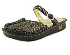 Alegria Womens Leather Mary Jane Flats Tuscany Leopard Stripe 8.5 EU 38 Medium