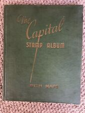 OLD 'THE CAPITAL STAMP ALBUM' WITH Penny Black, Penny Red Etc.