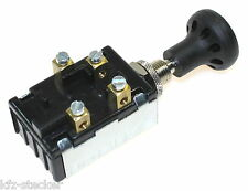 Zugschalter 2stufig Lichtschalter Gebläseschalter 2fach ENG für Oldtimer Traktor