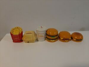 Vintage Lot of 6 Mcdonalds Changeables 1987/1990