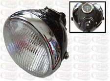 "LUCAS SSU700U TYPE 7"" HEADLAMP IDEAL FOR CUSTOM CRUISER MOTORCYCLES"
