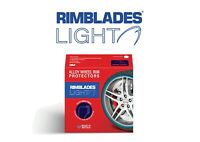 SINGLE Rimblades Light Alloy Wheel Rim Protectors/tape-replaces Trims4Rims