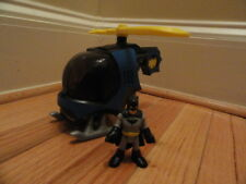 Imaginext Batman & Batcopter Helicopter DC Super Friends Chopper!!!