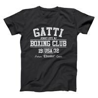 Gatti Boxing Club Retro  Arturo  Champ  Mma  Italy Black Basic Men's T-Shirt