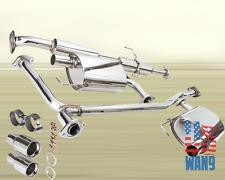 "2003-2007 Mazda 6 2.3L 4Cyl Hi-Performance Exhaust Catback 3.5"" Dual Muffler TIP"