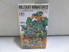 Tamiya Military Miniatures German Machine Gun Troops Infantry 1/35 (2)