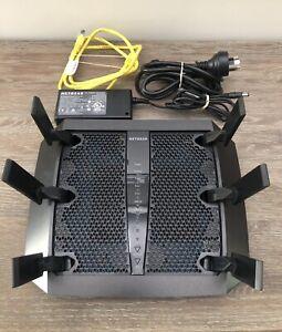 Netgear R8000 Nighthawk X6 AC3200 Tri-Band 4-Port WiFi Gigabit Wireless Router
