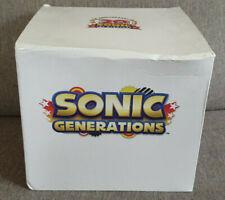 Sonic Generations 20th Anniversary Statue Figurine Part of Collectors Ed New Dam