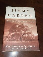 New ListingPresident Governor Jimmy Carter Signed Sources Of Strength Book Plains Georgia
