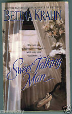 Betina Krahn SWEET TALKING MAN Victorian Romance, 1890's New York City (2000 1st