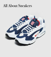 """Nike Air Max Triax 96 USA """"White-Blue"""" Men's Trainers Limited Stock All Sizes"""