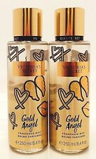 2 VICTORIA'S SECRET GOLD ANGEL FRAGRANCE MIST 8.4oz 250ml NEW!