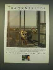 1990 Tetley Tea Ad - Tranquilitea