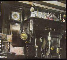 Glass Magic Lantern Slide THE BULL I'TH THORN INN BUXTON ROAD 1935 PHOTO HURDLOW