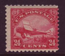 #C6 Carmine Biplane. Very Good 1. Nh Original Gum. Scott Catalog Value $130