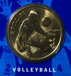 Sydney 2000 Olympic Coin Volleyball 18 of 28 FC#47