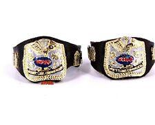 WWE Jakks Custom WWF Classic Tag Team Title Belts Wrestling Figure Accessory_a8