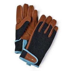 Burgon & Ball Dig The Glove Denim Men's Garden Gloves